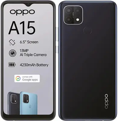 Oppo A15 Specifications