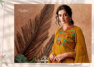 Belliza Designer Roman Beauty Jam Silk Salwar Kameez Collection