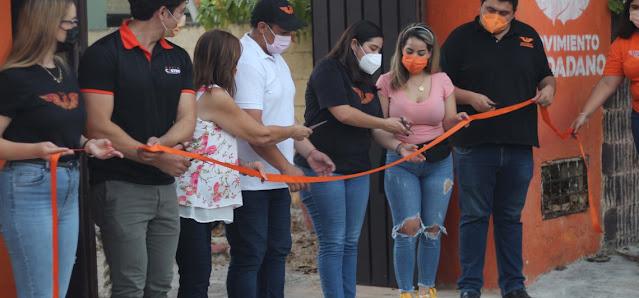 Inauguración de la Casa Ciudadana de David Castro