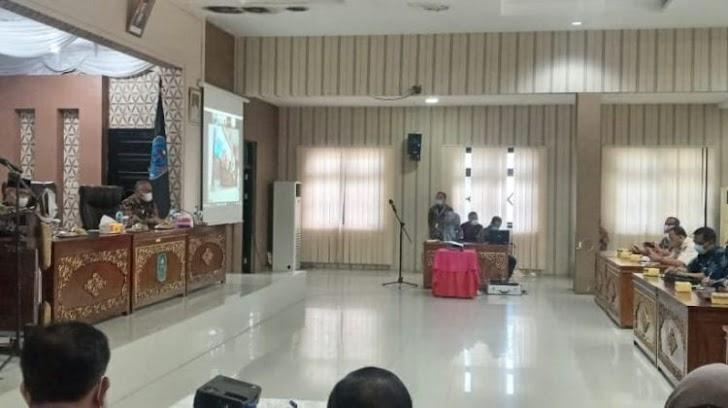 Plt Bupati H.Mashuri Buka High Level Meeting TPID Merangin