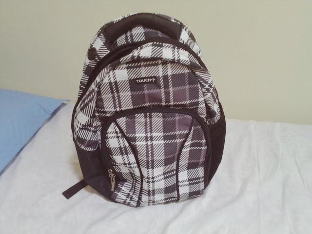 quase perfeito, mochilas touch