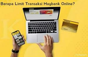 Cek Disini! Limit Transfer Maybank Online M2U ID & Maybank2u