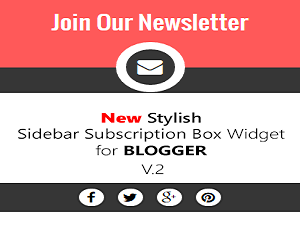 Hộp đăng ký nhận bài viết qua Email (Subscribe by email) cho Blogspot Version 2