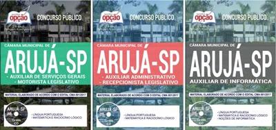 Apostila Concurso Câmara de Arujá 2017