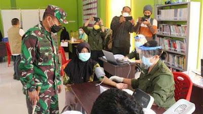 Pangdam Bukit Barisan Cek Pelaksanaan PPKM di Kepri