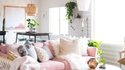 Dekorasi Ruangan Bertema Pink Jelang Valentine