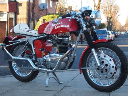 Retro Ride Interesting Royal Enfield On Ebay