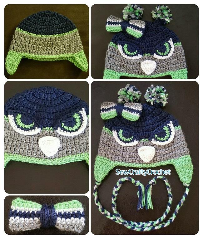 Crochet Seahawks Baby Set Sew Crafty Crochet