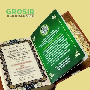Wakaf Al Quran Untuk Souvenir Tahlilan