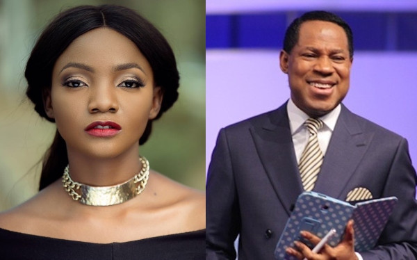 Here's what Singer Simi drops for Pastor Chris Oyakhilome