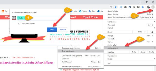 come creare collegamenti per pagine web