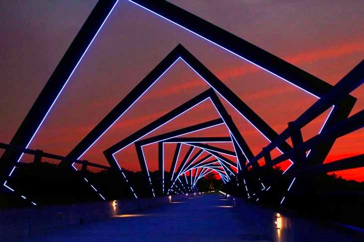 puente hermoso e impresionante