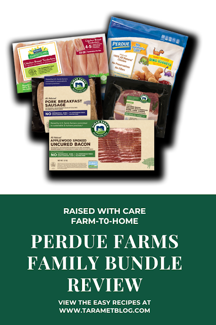 Raised with Care Perdue Farms Family Bundle Review - No Antibiotics - @PerdueFarms #PerdueFarmsFarmtoHome