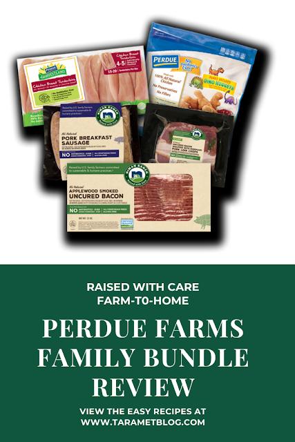 Raised with Care Perdue Farms Family Bundle Review - No Antibiotics - @PerdueFarms #PerdueFarmsFarmtoHome