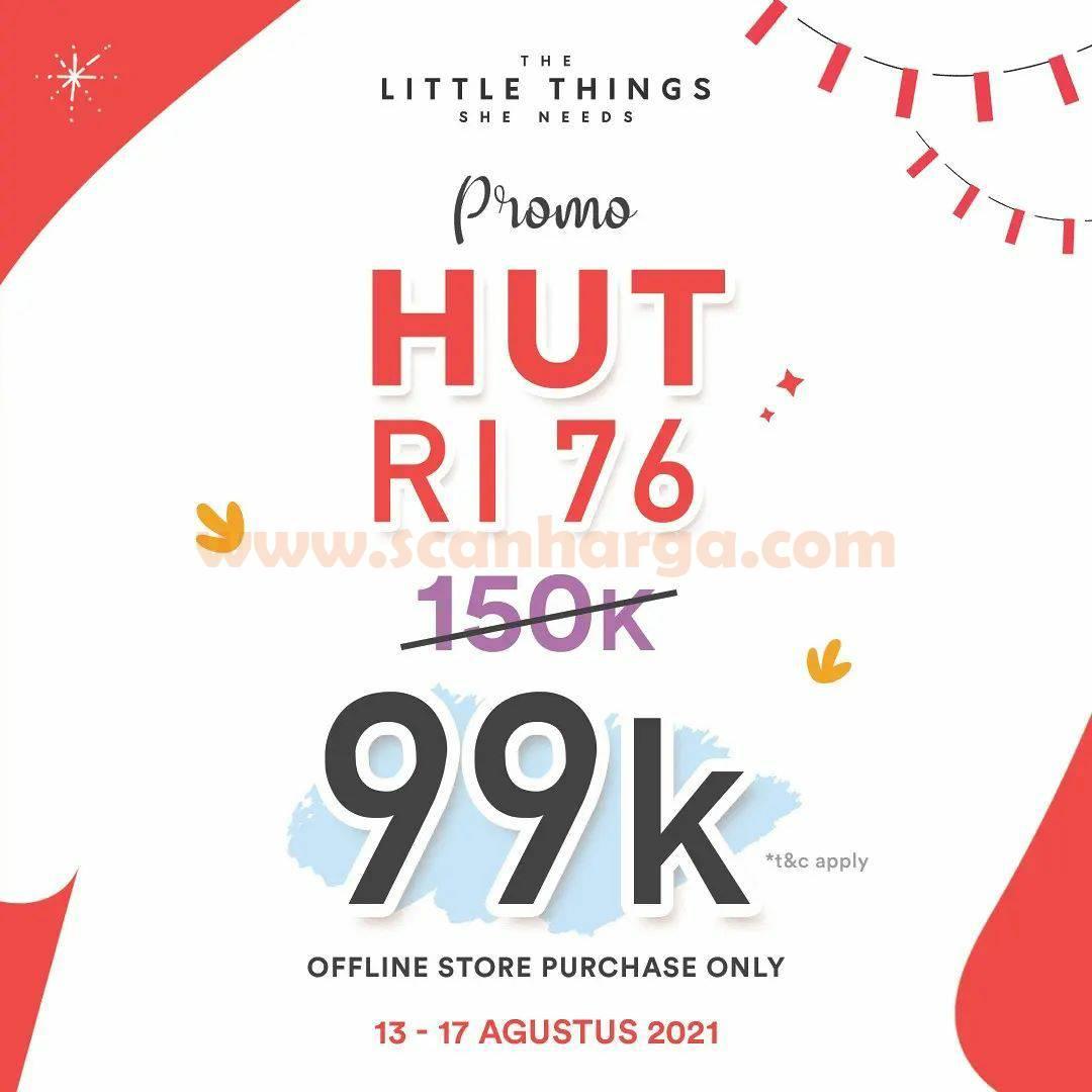 The Little Things She Needs Promo HUT RI Ke-76 - Special Price 99K
