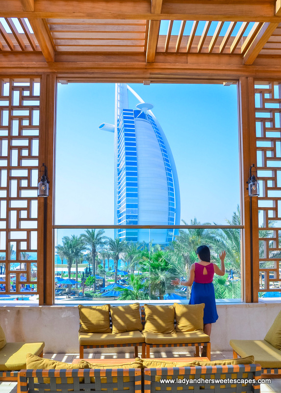 Lady in Dubai