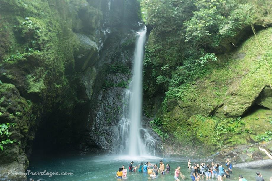 Jam-packed Ditumabo Falls
