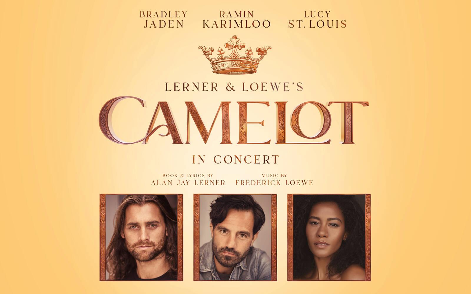 Camelot to star Ramin Karimloo, Bradley Jaden and Lucy St. Louis