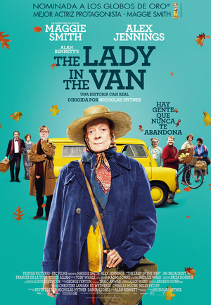 Poster The Lady in the Van 2015
