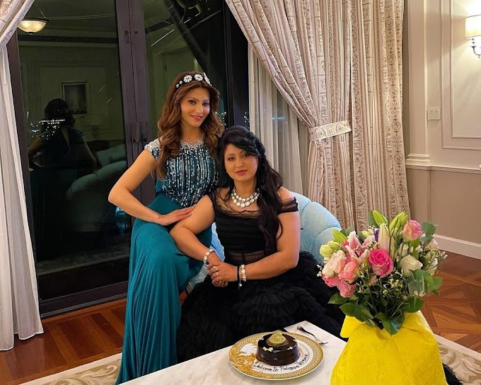 Happy Mother's Day 2021- Here's how Urvashi Rautela is going to spend mothers day with her Mom, Meera Rautela