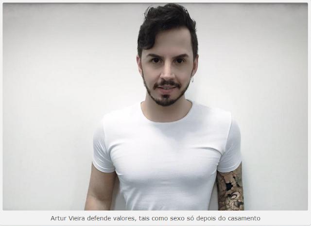 Resultado de imagem para Youtuber Arthur Vieira programa