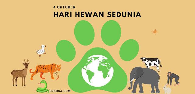 Sejarah Hari Hewan Sedunia 4 Oktober