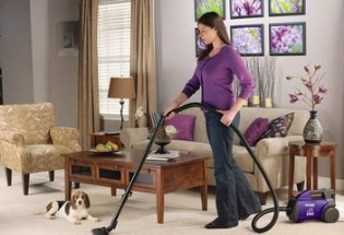 household electronic vacuum cleaner
