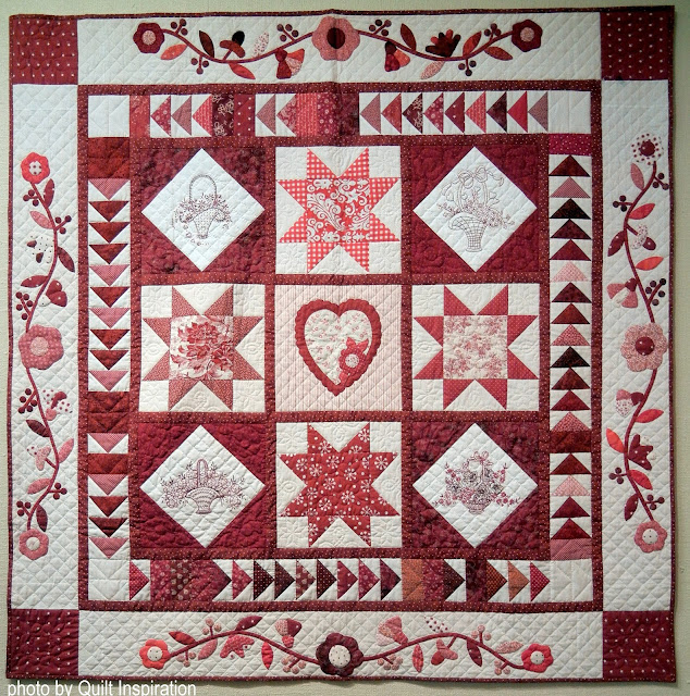 Quilt Inspiration: Heart quilts for Valentine\'s Day!
