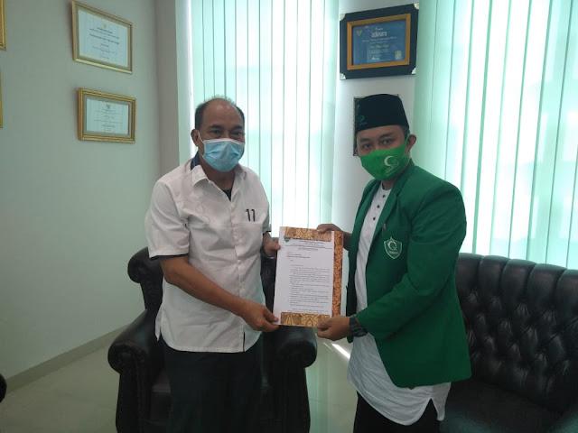 Walikota Tebingtinggi Apresiasi Dukungan PC HIMMAH Terkait Rencana Bangun UINSU di  Tebingtinggi