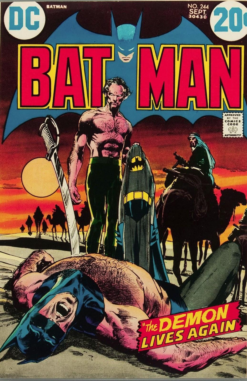 Capns Comics Ras Al Ghul by Neal Adams