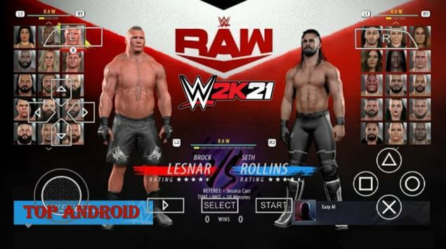 WWE 2K21 PPSSPP ISO Android Offline Download