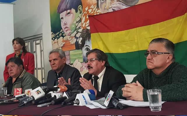 Albarracín dice que Gobierno de México fomenta la impunidad al proteger a exautoridades del MAS
