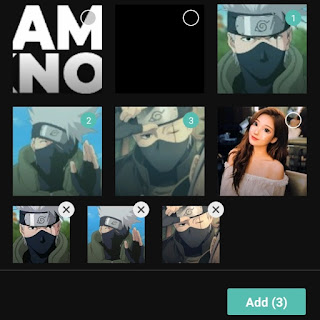 add two videos or photos