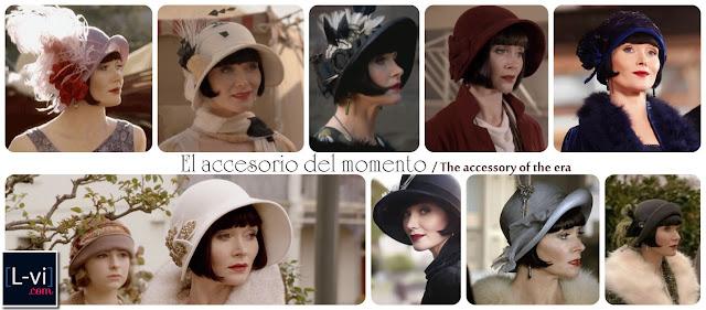 Sombreros para Miss Fisher / Phryne's hats L-vi.com
