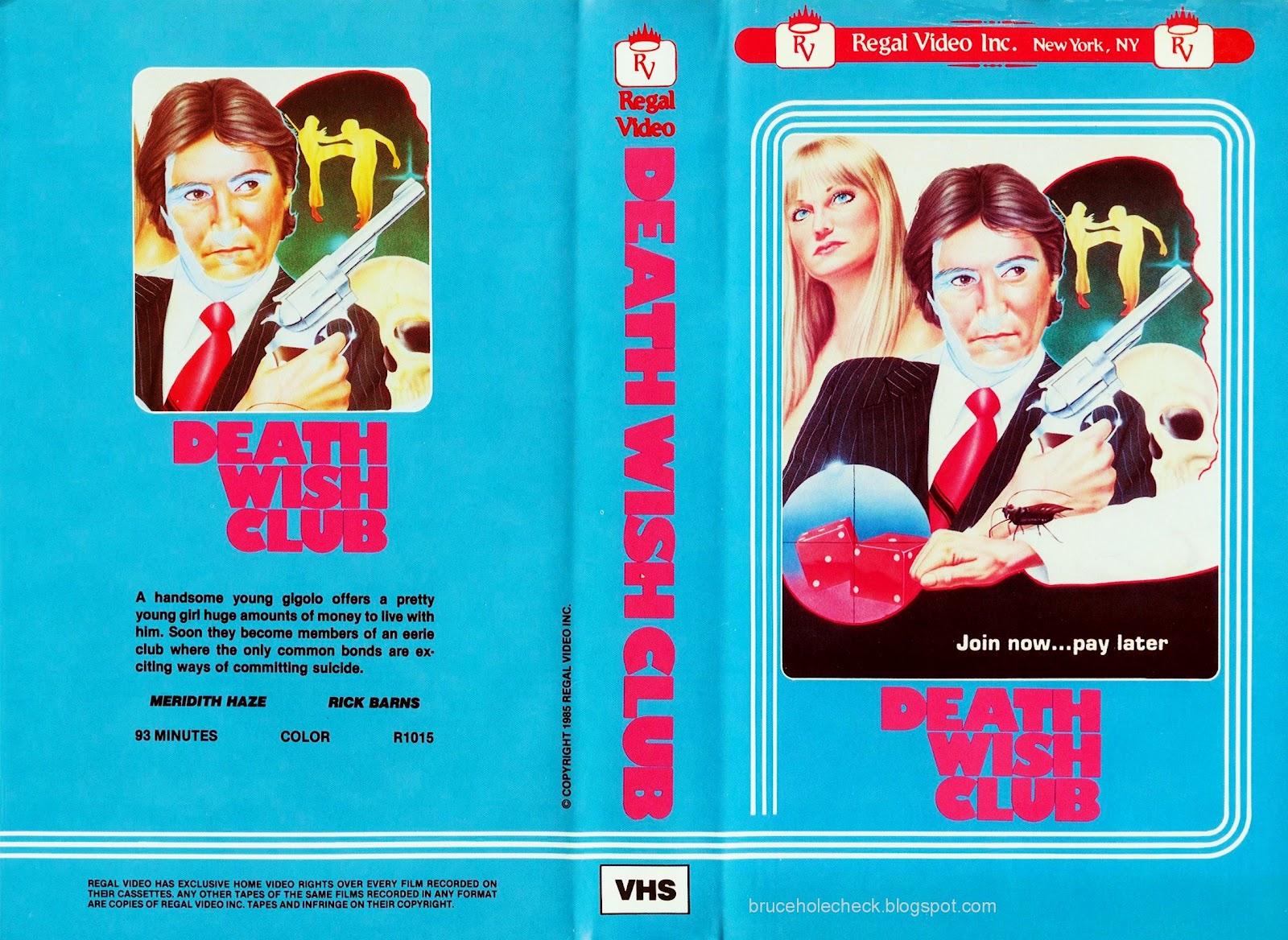 Cinema Arcana The Vhs Archives John Carr S Death Wish