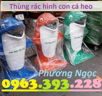 Thùng rác hình con cá heo, thùng rác công cộng, thùng rác cá heo, thùng rác TRCH3