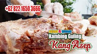 Atraksi Kambing Guling Bandung, kambing guling bandung, kambing guling