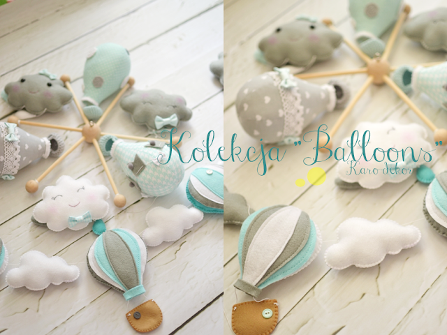 karuzela balony