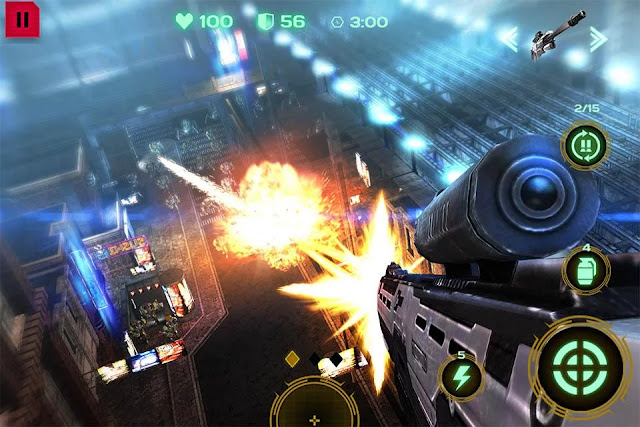 Dead Earth: Sci-fi FPS Shooter APK V2.0