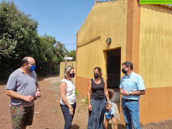 Cabildo y Gobierno de Canarias plantean un centro de recría de cabra palmera en la Finca Experimental de Garafía