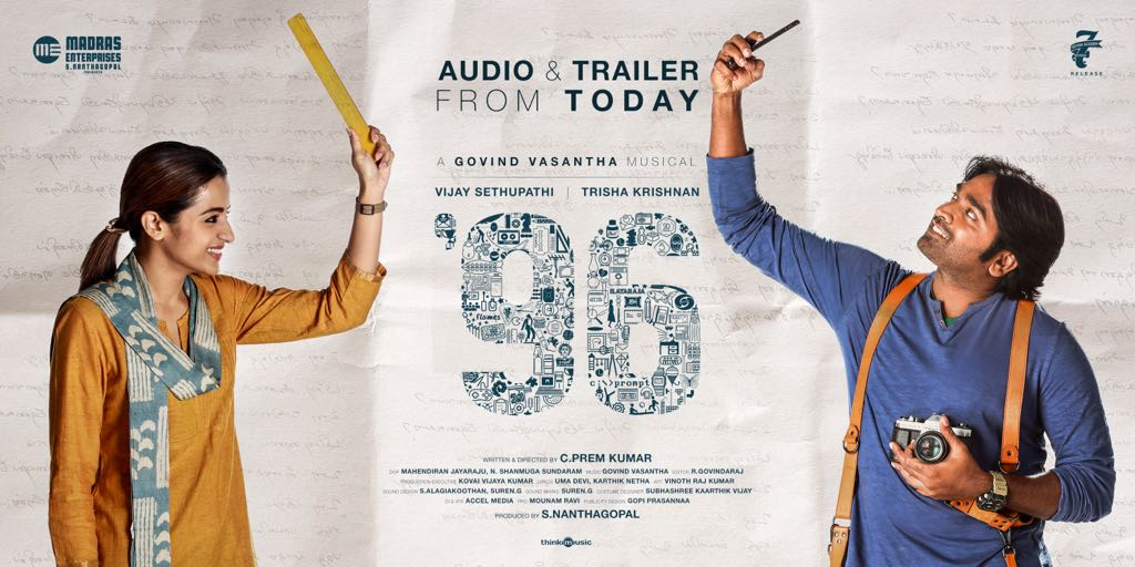 96 Film Latest Posters Latest Movie Updates Movie Promotions