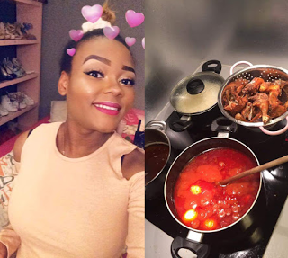 If your girlfriend don't cook for you, throw her the f**k away – Nigeria girl advises