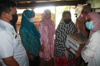 Program Dinas P3AP2KB Sinjai Wakil Bupati Berkunjung ke Samataring Peringati Hari Kartini