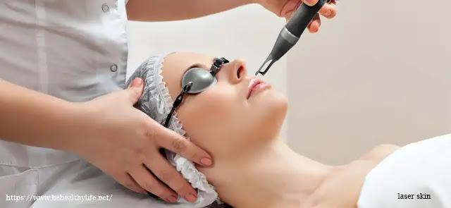 laser skin, skin care