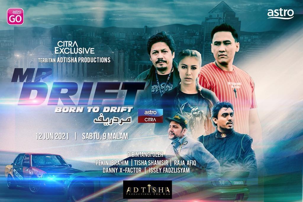 Telefilem Mr Drift Di Astro Citra (Citra Exclusive)