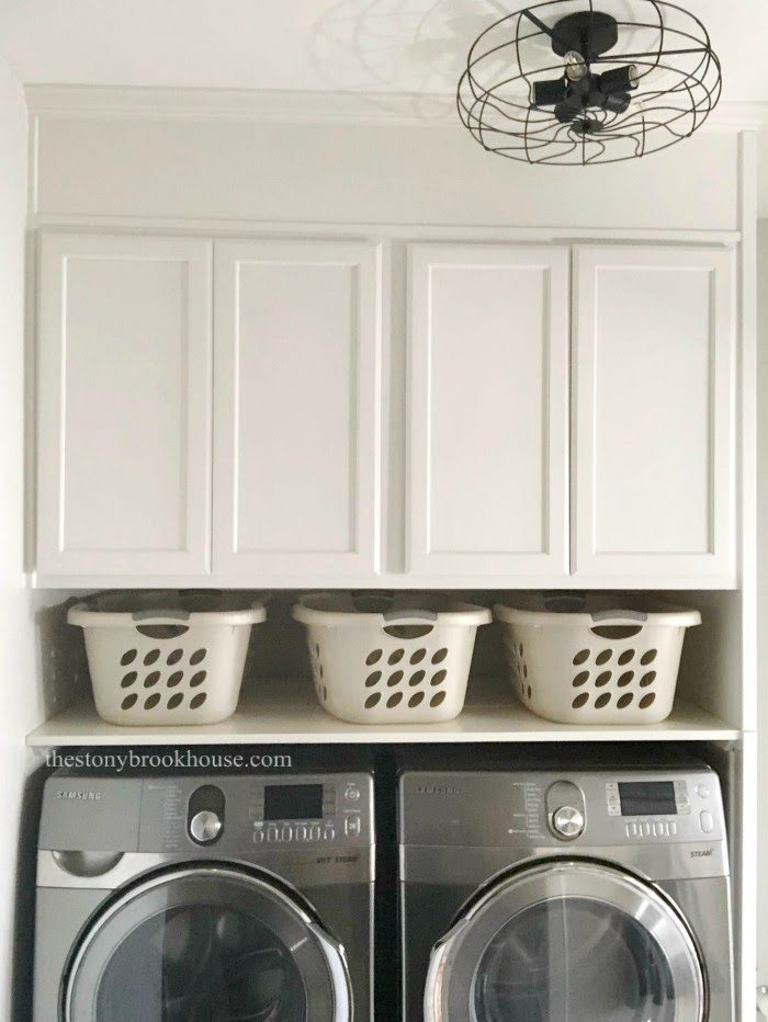 Laundry Area Makeover