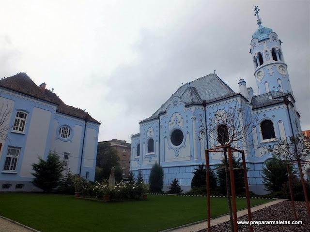 La Iglesia azul de Bratislava