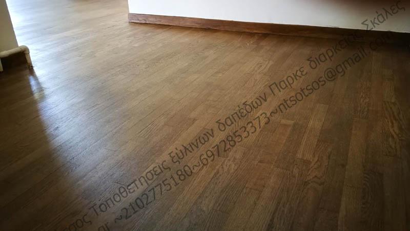 Αλλαγή χρώματος σε ξύλινο πάτωμα: Μπορώ να το βάψω ότι χρώμα θέλω;