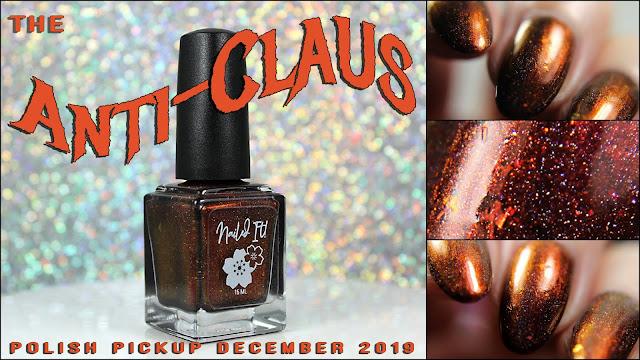 Nailed It! Nail Polish The Anti-Claus | Polish Pickup December 2019