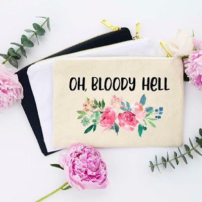 Oh Bloody Hell Tampon Bag on Etsy